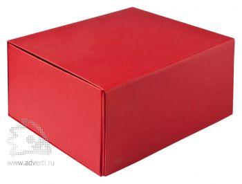 Подарочная коробка, складная, красная