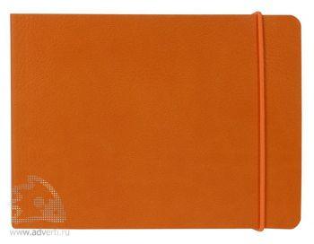 Блокнот «City», оранжевый