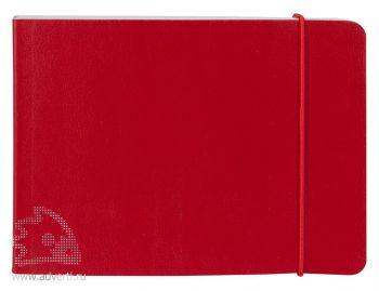 Блокнот «City», красный