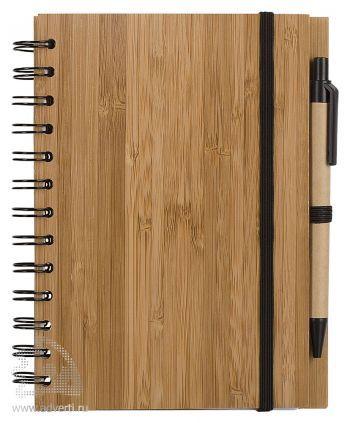Блокнот на кольцах  «Bambook» с ручкой