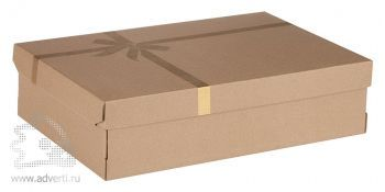 Коробка подарочная «Крафт» средняя