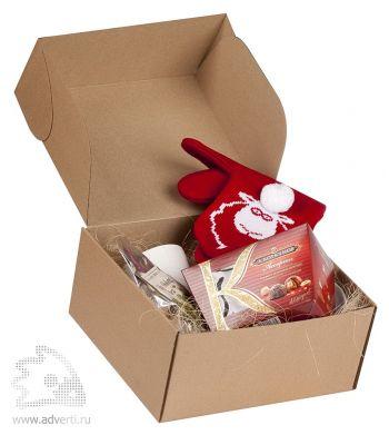 Коробка подарочная «Крафт» малая, вместимость