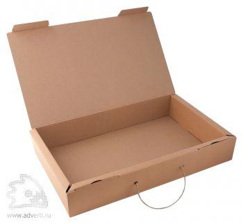 Коробка подарочная «Узор» с ручкой, открытая