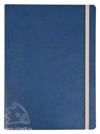 Ежедневник «Vivien» в мягкой обложке, синий