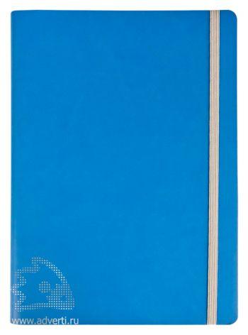 Ежедневник «Vivien» в мягкой обложке, голубой