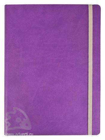 Ежедневник «Vivien» в мягкой обложке, фиолетовый