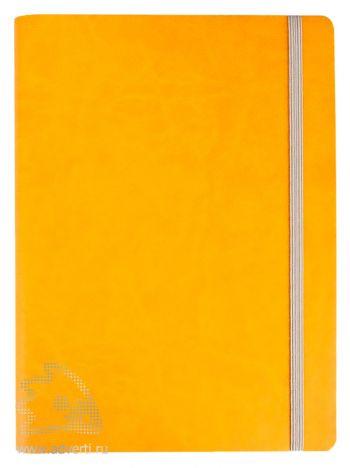 Ежедневник «Vivien» в мягкой обложке, оранжевый