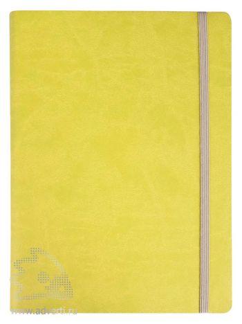 Ежедневник «Vivien» в мягкой обложке, зеленый