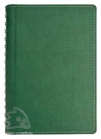 Ежедневник «Semi», зеленый
