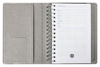 Ежедневник «Semi», открытый с кармашком