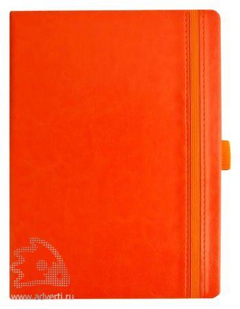 Ежедневник «Lyric», оранжевый