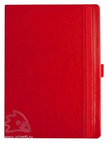 Ежедневник «Lyric», красный