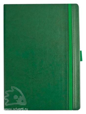 Ежедневник «Lyric», зеленый