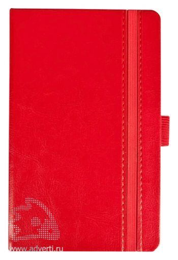 Ежедневник «Lyric mini», красный