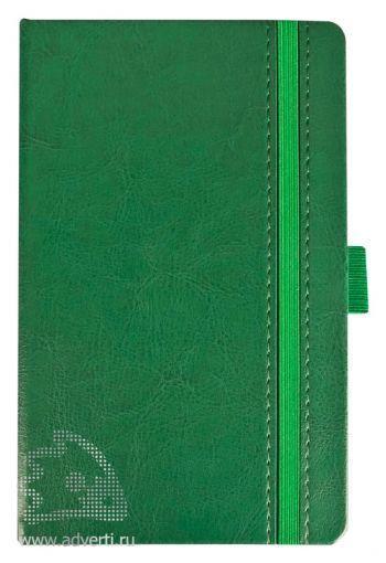 Ежедневник «Lyric mini», зеленый