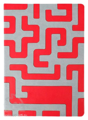 Ежедневник «Labyrinth», красный