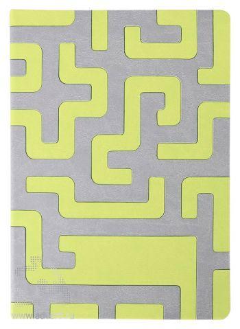 Ежедневник «Labyrinth», зеленый