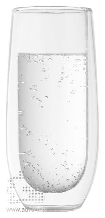 Стакан с двойными стенками «Glass Vine»