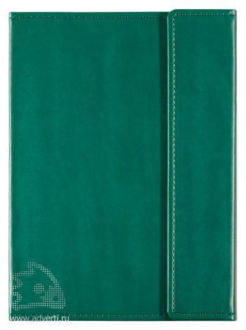 Ежедневник «Left», зеленый