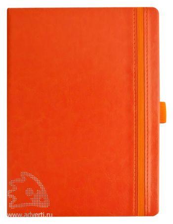 Ежедневник «Lyric classic». оранжевый
