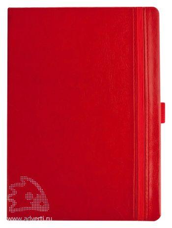 Ежедневник «Lyric classic», красный