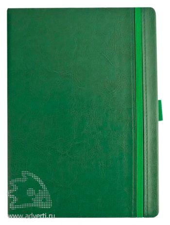 Ежедневник «Lyric classic», зеленый