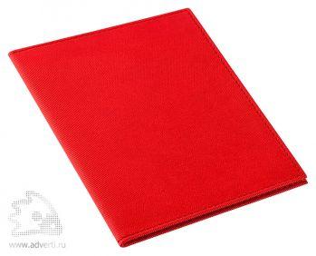 Обложка для паспорта «Twill», красная