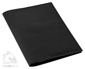 Обложка для автодокументов «Twill», черная