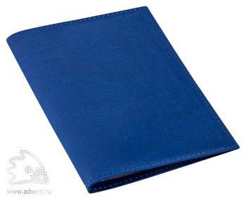 Обложка для автодокументов «Twill», синяя