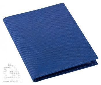 Визитница «Twill», синяя