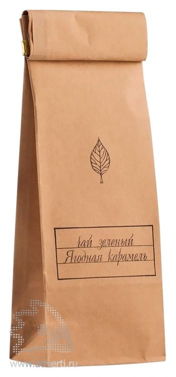 Чай «Ягодная карамель», упаковка чая