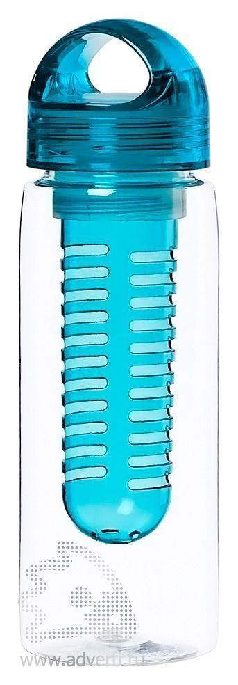 Бутылка для воды «Taste», синяя