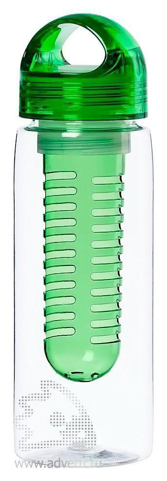 Бутылка для воды «Taste», светло-зеленая