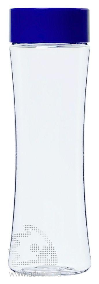 Бутылка для воды «Shape», синяя