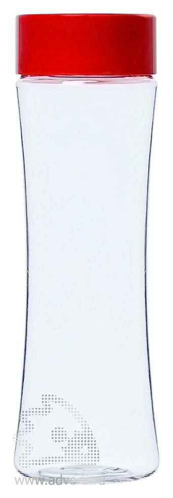 Бутылка для воды «Shape», красная