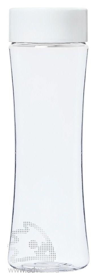 Бутылка для воды «Shape», белая