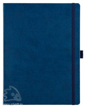 Блокнот «Freenote Maxi», синий
