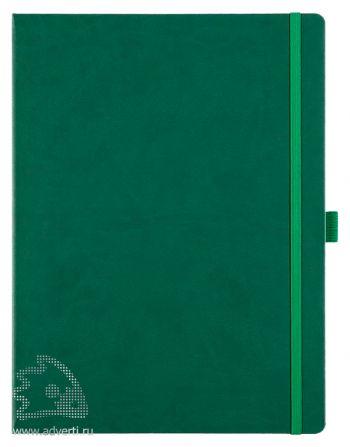 Блокнот «Freenote Maxi», зеленый