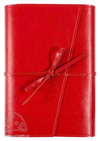 Ежедневник «Strap», красный