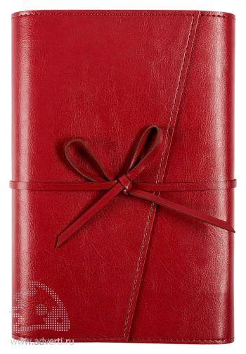 Ежедневник «Strap», бордовый
