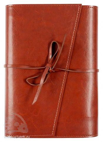 Ежедневник «Strap», коричневый