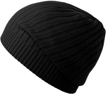 Шапка «Stripes», черная