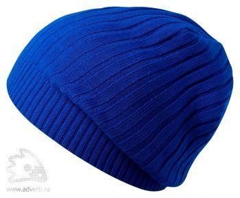Шапка «Stripes», синяя