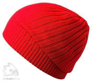 Шапка «Stripes», красная