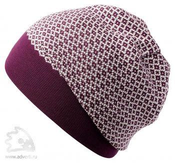 Шапка «Crown», фиолетовая