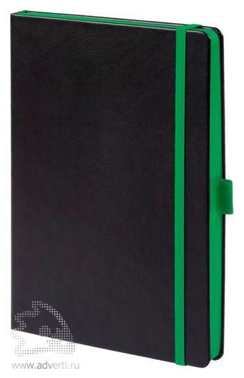 Ежедневник «Tone», зеленый