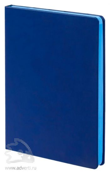Ежедневник «Blues», синий с голубым