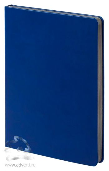 Ежедневник «Blues», синий с серым