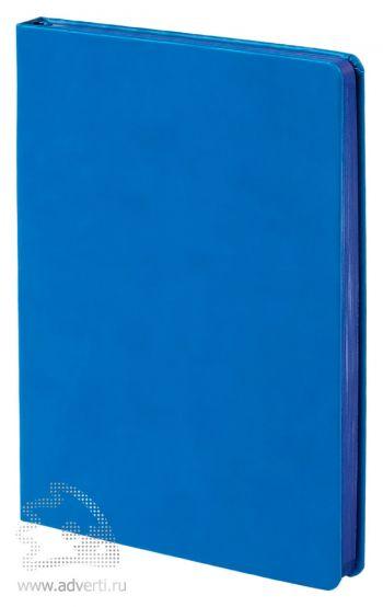 Ежедневник «Blues», голубой с синим