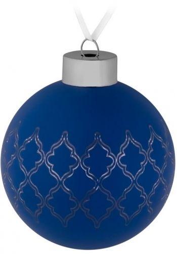 Елочный шар «King», синий
